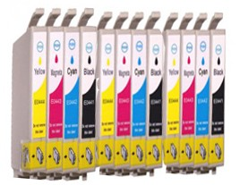 Compatible Epson T0445 Ink Cartridges Triple Multipack