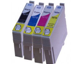 Compatible Epson T0715 Ink Cartridges