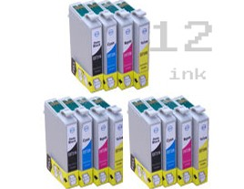 Compatible Epson T0715 Ink Cartridges Triple Multipack