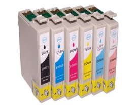 Epson T0807 Ink Cartridges