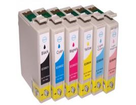 Epson T0807 Ink Cartridges