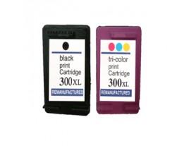 HP 300XL Black / Colour Ink Cartridges
