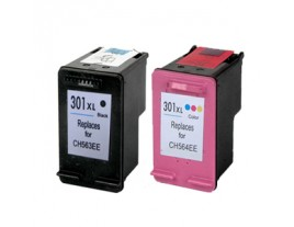 HP 301XL Black / Colour Ink Cartridges