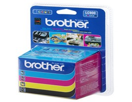 Brother LC900 ink cartridges Genuine Multipack (LC900VALBP)