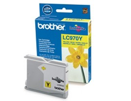 Genuine Brother LC970Y Yellow Ink Cartridge