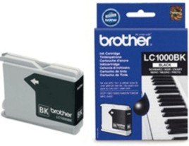 Genuine Brother LC1000Bk Black Ink Cartridge