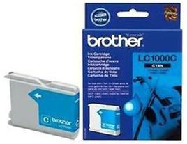 Genuine Brother LC1000C Cyan Ink Cartridge