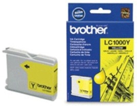 Genuine Brother LC1000Y Yellow Ink Cartridge