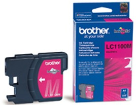 Genuine Brother LC1100M Magenta Ink Cartridge