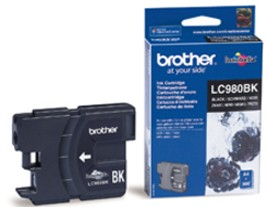 Genuine Brother LC980Bk Black Ink Cartridge