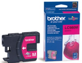 Genuine Brother LC980M Magenta Ink Cartridge