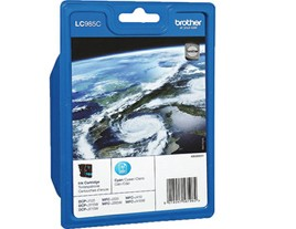 Genuine Brother LC985C Cyan Ink Cartridge