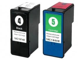 Lexmark No 4 / 5 Ink Cartridges