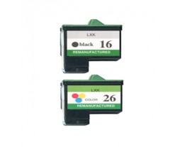 Lexmark No 16/ 26 Ink Cartridges