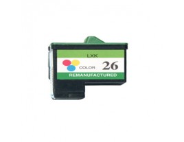 Lexmark No 26 Colour Ink Cartridge