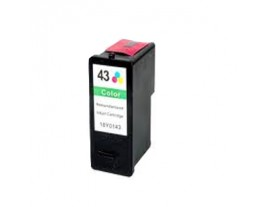 Lexmark No 43XL Colour Ink Cartridge