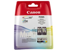 Genuine Canon PG-510 and CL-511 Ink Cartridges