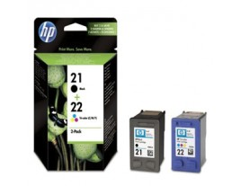 HP Genuine 21 and 22 Ink Cartridges