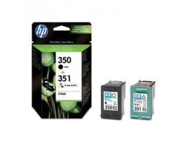 Genuine HP 350 351 Ink Cartridges Multipack