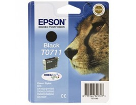 Genuine Epson T0711 Black Ink Cartridge