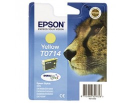 Genuine Epson T0714 Yellow Ink Cartridge