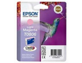 Genuine Epson T0806 Light Magenta Ink Cartridge