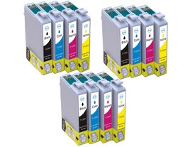 Epson T1285 Ink Cartridges Triple Multipack