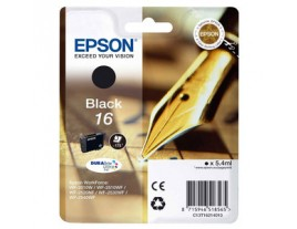 Genuine Epson T1621 Black Ink Cartridge