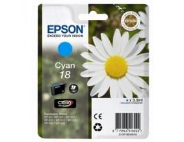 Genuine Epson T1802 Cyan Ink Cartridge