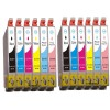 Compatible Epson T0487 Ink Cartridges Multipack