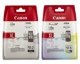 Genuine Canon PG-512 and CL-513 Ink Cartridges