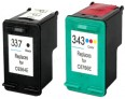 HP 337 and 343 Ink Cartridges