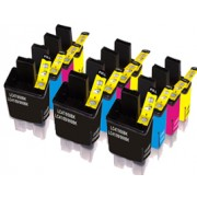 Brother LC900 Ink Cartridges Triple Multipack