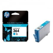 Genuine HP 364 Cyan Ink Cartridge