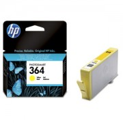 Genuine HP 364 Yellow Ink Cartridge