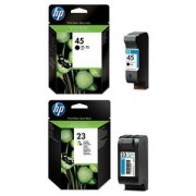 HP Genuine 23 and 45 Ink Cartridges