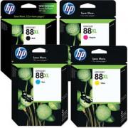 Genuine HP 88XL Ink Cartridges Multipack