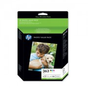 Genuine HP 363 and Photo Paper Ink Cartridges