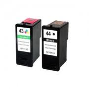 Lexmark No 43XL and 44XL Ink Cartridges
