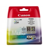 Genuine Canon PG-37 and CL-38 Ink Cartridges