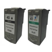 Canon PG-40 and CL-41 Compatible Black & Colour Ink Cartridges