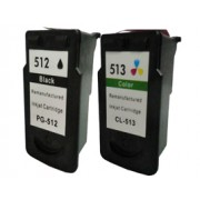 Canon PG-512 and CL-513 Compatible ink cartridges