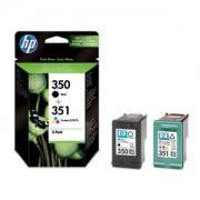 Genuine HP 350 351 Ink Cartridges Multipack