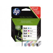Genuine HP 364 Ink Cartridges Multipack