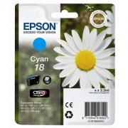 Genuine Epson T1802 Cyan Ink Cartridge